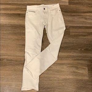 Men's Calvin Klein White Denim Jean